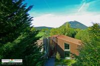 Auvergne vue du ciel par un drone