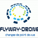 Logo flayway drone pilote drone tours