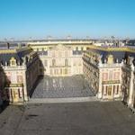 Photo aerienne chateau de versaille en ile de france