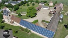 Photo panneaux photovoltaiques apollo