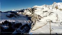 Prise de vue aerienne auvergne rhone alpes le grand bornand