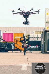 Prises de vues aeriennes professionnel du drone
