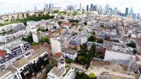Vue aérienne Ile de France Suresnes phot de drone
