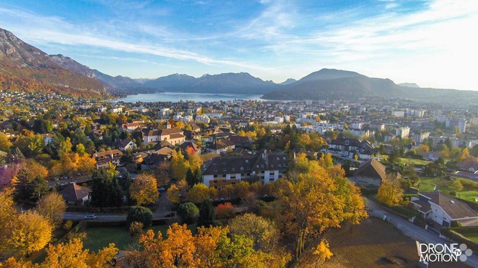 Photos villes d'Auvergne-Rhône-Alpes, vues du ciel