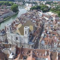 Photos villes de Bourgogne-Franche-Comté, vues du ciel
