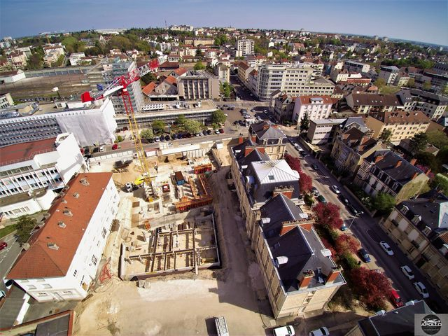 Chantier en photo aérienne par drone