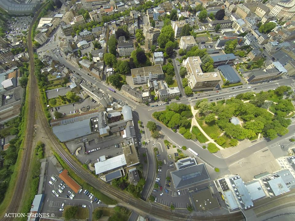 Photos de ville du Grand-Est, vues du ciel