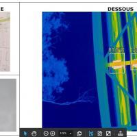 Contrôle de déperdition thermique par thermographie aérienne par drone