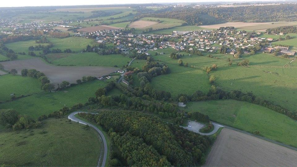 Photo aérienne de Dampierre-Saint-Nicolas Seine-Maritime Normandie