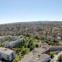 Dijon, photographie aérienne par drone