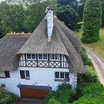 Photographie aérienne de maison