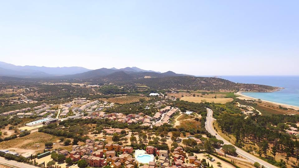 Photos, la Corse en vues aériennes par drone