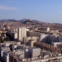 Marseille photo aérienne par drone