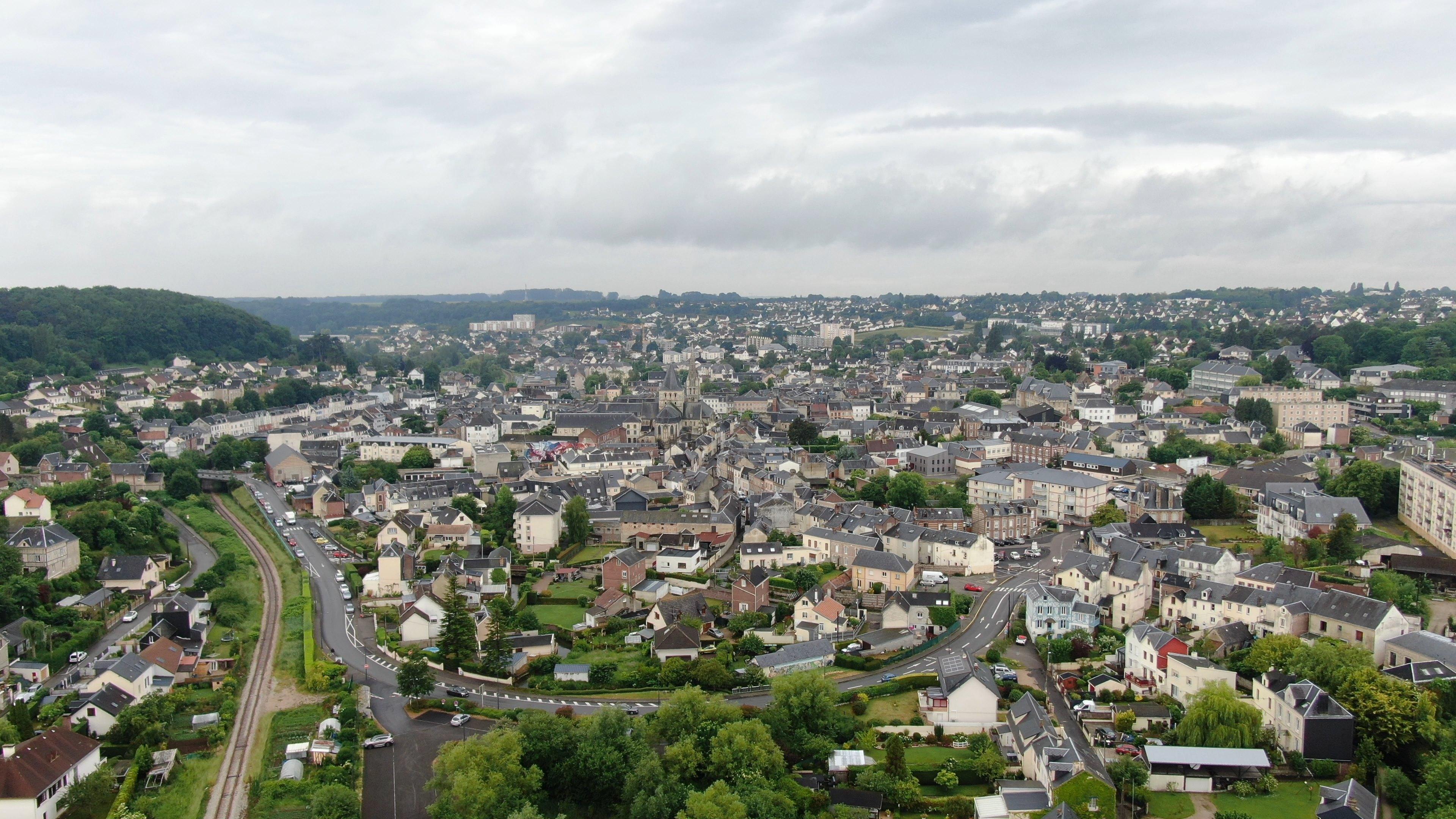 Montivilliers photographie aérienne par drone Seine-Maritime
