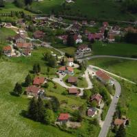 Oye-et-Pallet en vue aerienne par drone