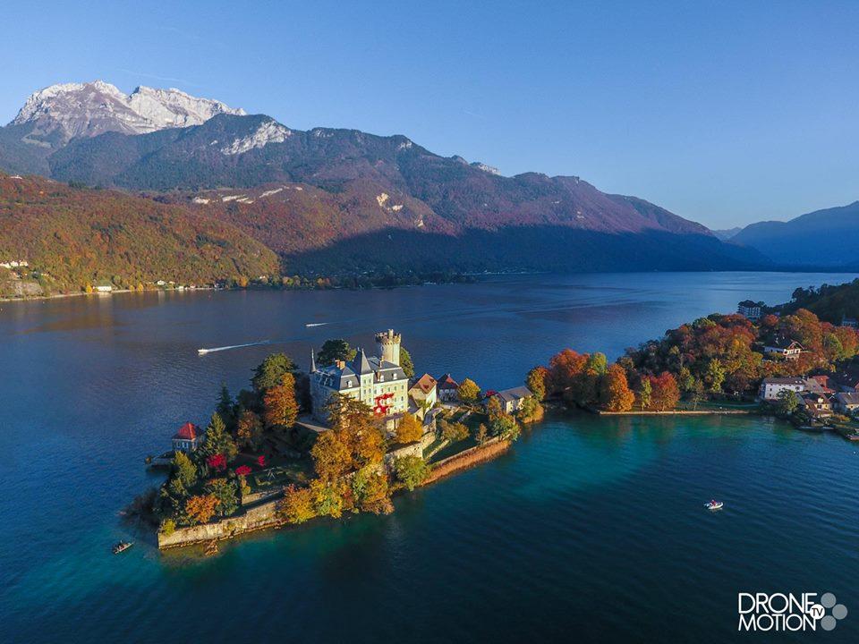 Photos, l'Auvergne-Rhône-Alpes en vues aériennes par drone
