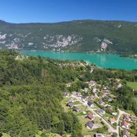 Photos, la Bourgogne-Franche-Comté en vues aériennes par drone