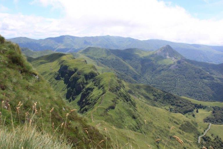 Photo aérienne Cantal