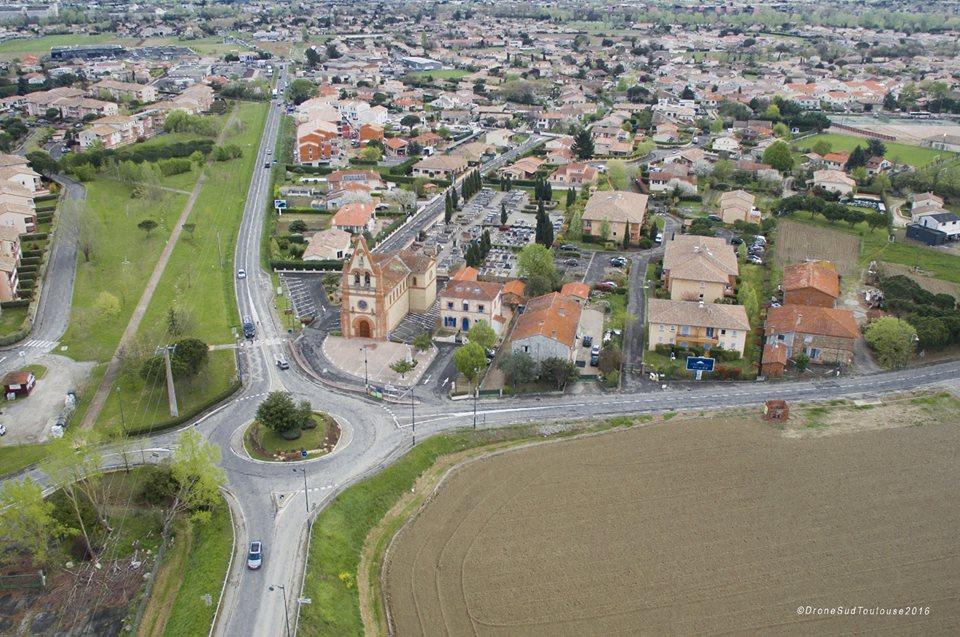 Photo aérienne de Gagnac-sur-Garonne