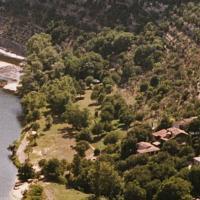 Photo aérienne de l Ardèche