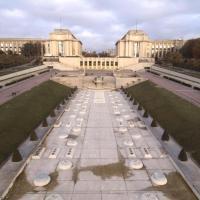 Photo aérienne de la place du Trocadéro à Paris