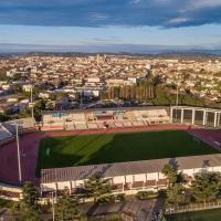 Photo aérienne de la ville de Narbonne en drone