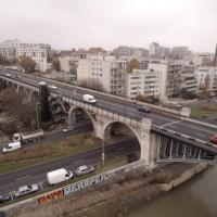 Photo aérienne de Levallois-Perret prise par un drone