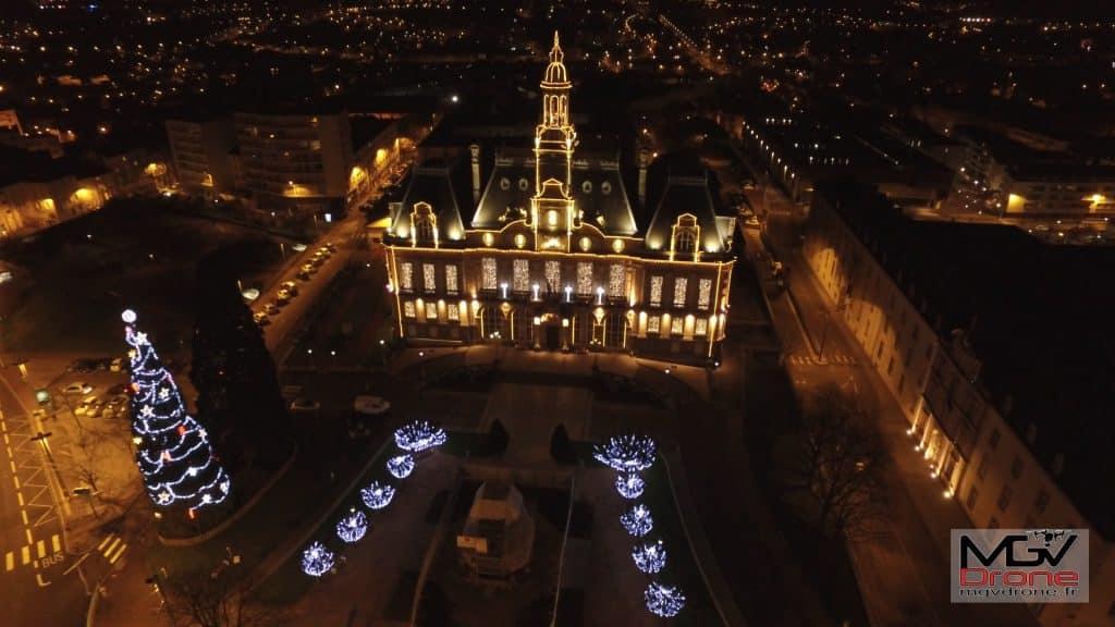 Photo aérienne de Limoges photographiée par drone