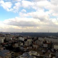 Photographies de Paris en vues aériennes par drone