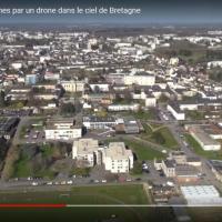 Photo aérienne de Rennes photographiée par un drone
