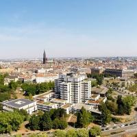 Photo aérienne de Strasbourg photographie par drone