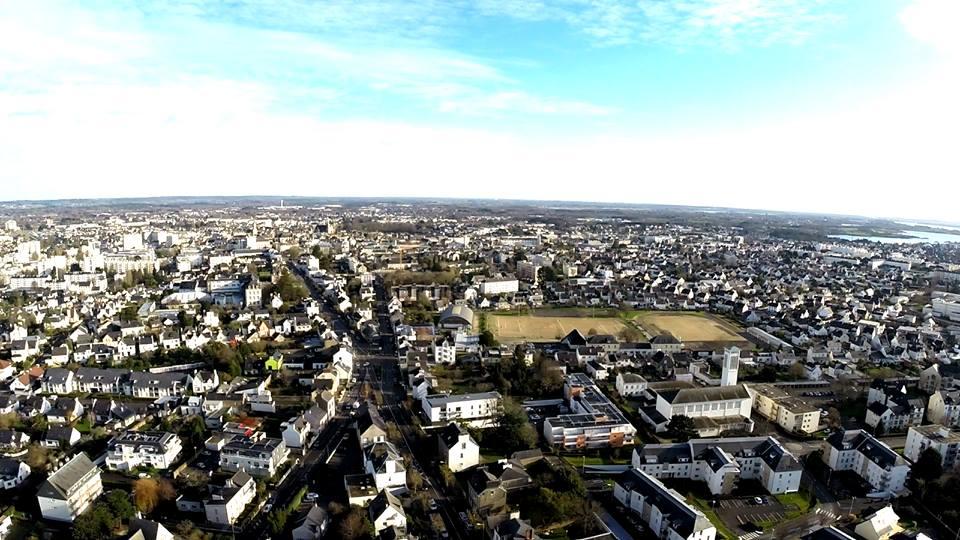 Photos de villes de Bretagne vue du ciel