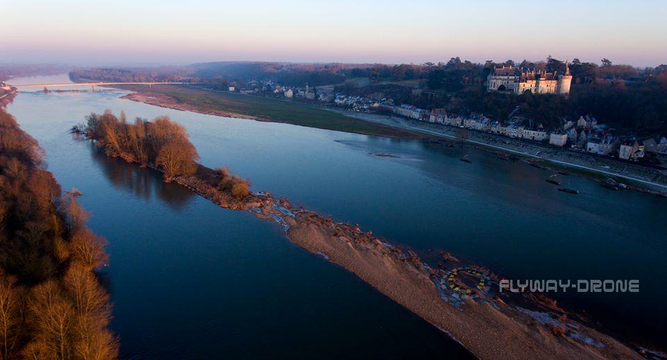 Les Pays-de-la-Loire en vues aériennes par drone