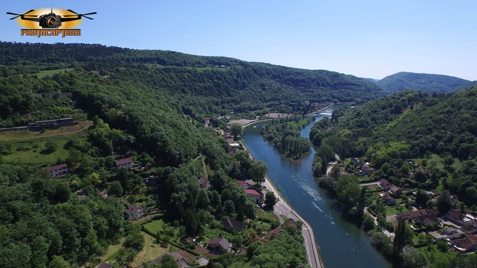 Photo aérienne Doubs