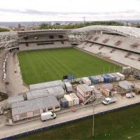 Photo aérienne du stade de Beaublanc à Limoge