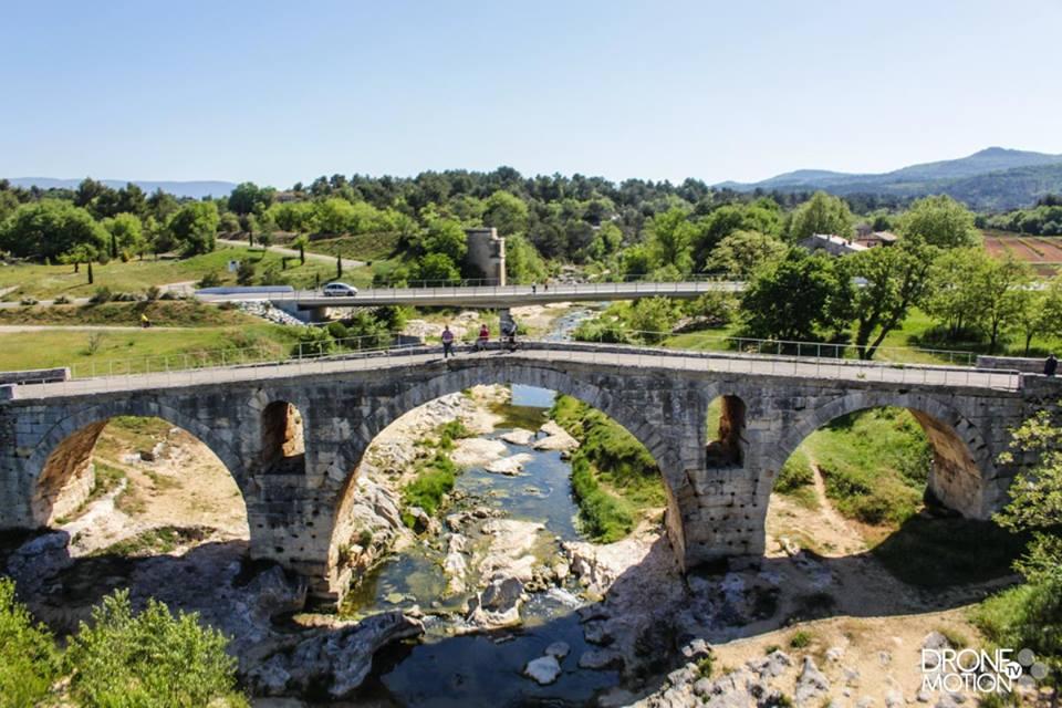 Photo aérienne du Vaucluse