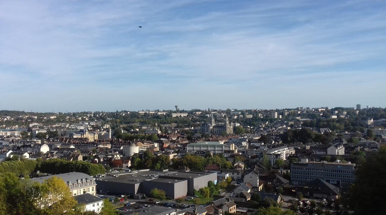 Photo aérienne Evreux par drone dans l'Eure