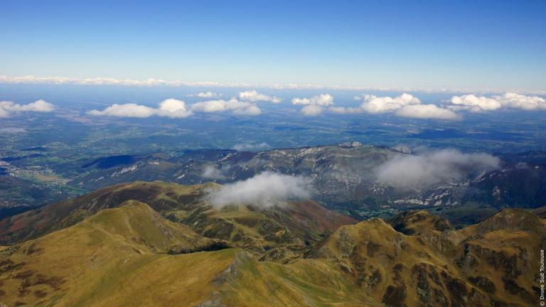Photo aérienne Hautes Pyrénées