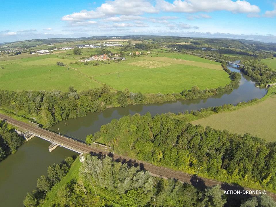 Photo aérienne Ille-et-Vilaine en Bretagne