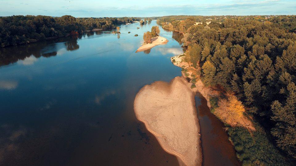 Photo aérienne Loire