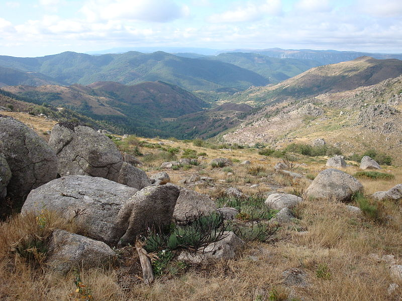 Photo aérienne Lozère