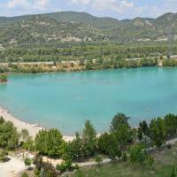photo aérienne par drone de Peyrolles-en-Provence