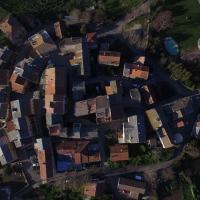 photo aérienne par drone village Corse Olmeta-di-Tuda