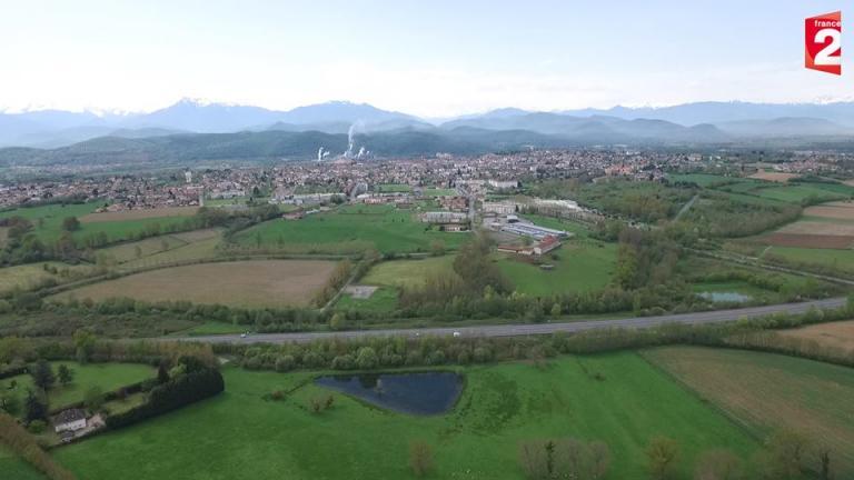 Photo aérienne Pyrénées-Orientales