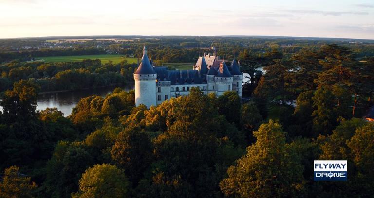 Photo aérienne région Centre-Val-de-Loire