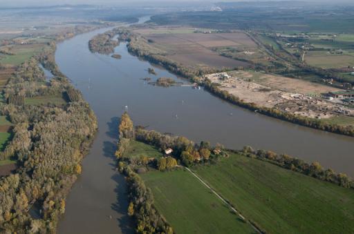 Photo aérienne Rhône