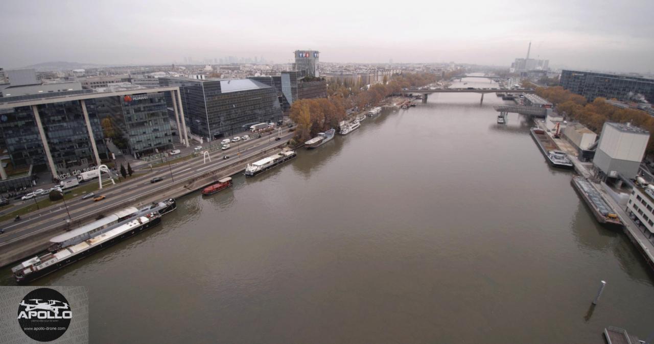 Photo aérienne de Boulogne-Billancourt, Hauts-de-Seine