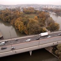 Photo aérienne Ile-Saint-Germain proche Paris
