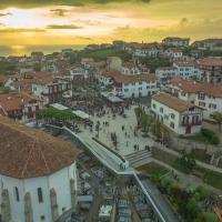 Photographie aérienne de la ville de Bidart par drone