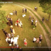 Photographie aérienne de mariage par drone
